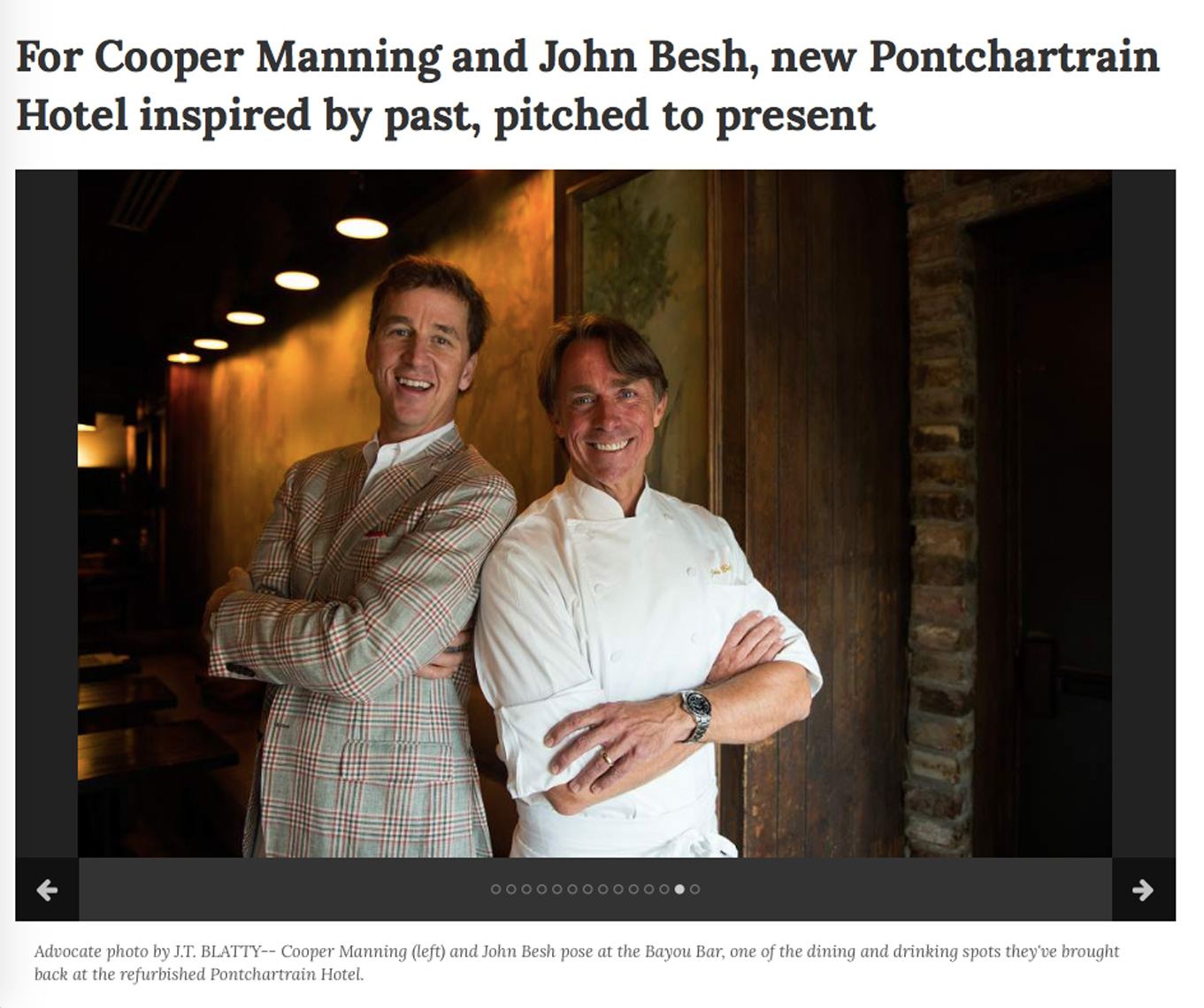 Cooper-Manning-and-John-Besh-New-Orleans-2016
