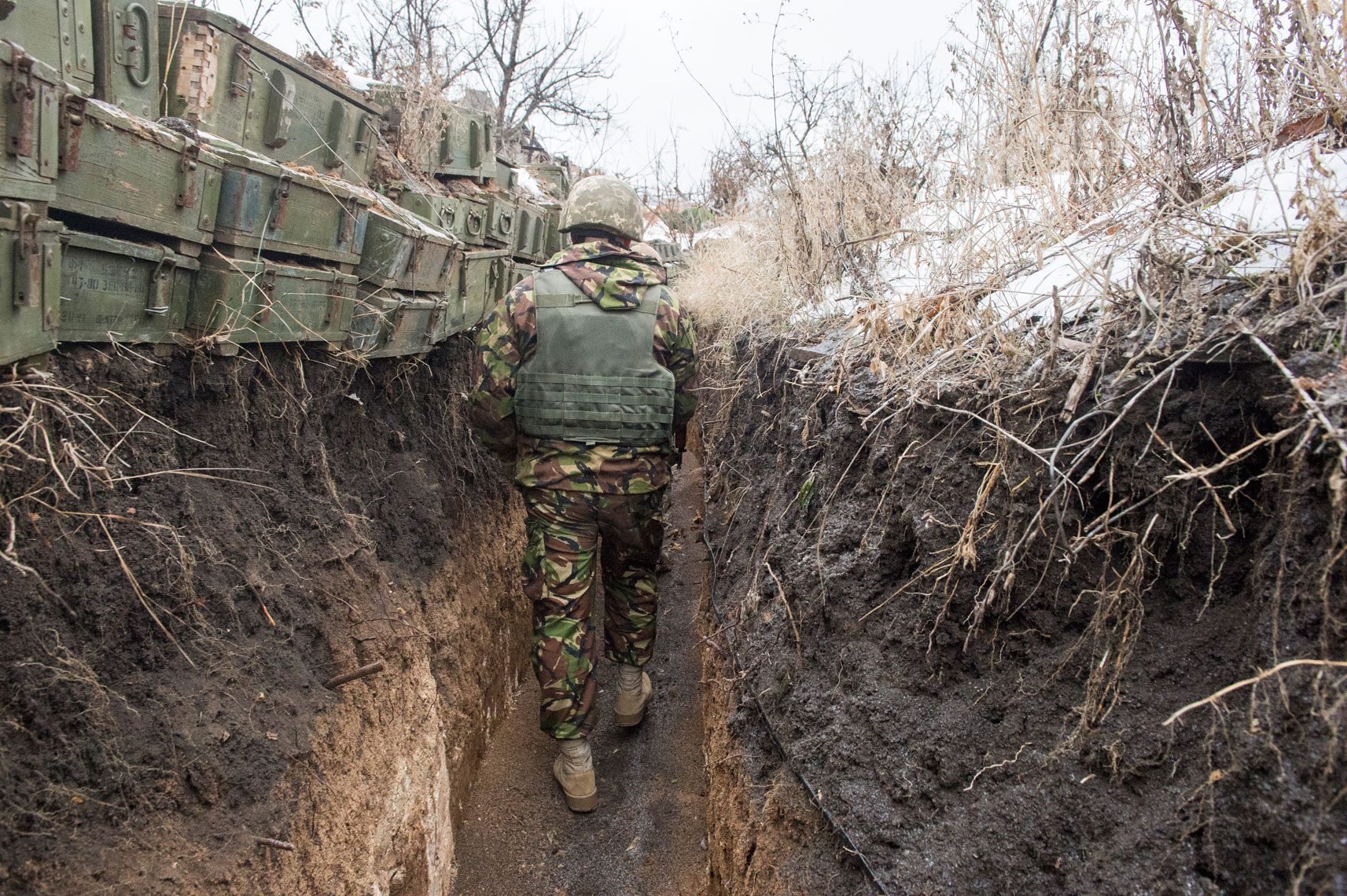 donbas-trenches